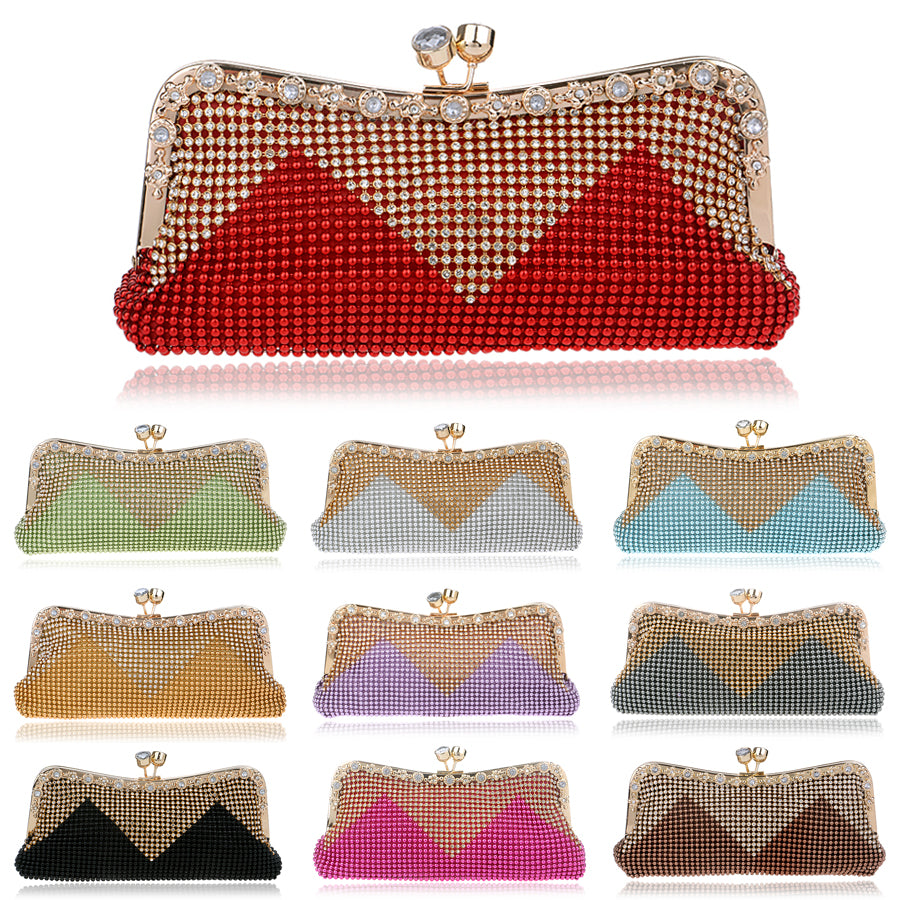 Handbags | 12 Colors Diamonds Crystal - Club Dresses | Party Dresses | Club Outfits. Club Dresses from ClubbingLove.com