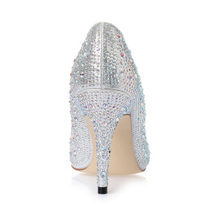 Shoes | New Rhinestone Cinderella Shoes - Club Dresses | Party Dresses | Club Outfits. Club Dresses from ClubbingLove.com