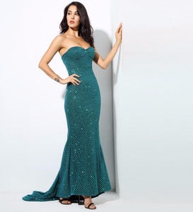 Club Dresses | Club Outfits | Party Dresses Dress, Club Dresses | Party Dresses | Green Slim Fishtail - Clubbing Love