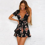 Club Dresses | Club Outfits | Party Dresses Dress, Club Dresses | Party Dresses | V black printing dress - Clubbing Love
