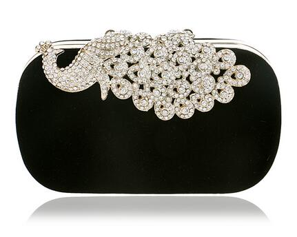 Clutch evening bags Crown rhinestones evening bags purse  shoulder bag for wedding Diamonds Lady Purse Mini Evening Bags