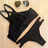 Club Dresses | Club Outfits | Party Dresses bikini, Bikini | Geometry Black Bikini - Clubbing Love