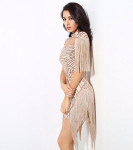 Club Dresses | Club Outfits | Party Dresses Dress, Club Dresses | Party Dresses | Sexy Gold High Collar - Clubbing Love