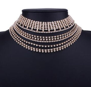 Club Dresses | Club Outfits | Party Dresses jewelry, Jewelry | Multi-layer rhinestone crystal - Clubbing Love