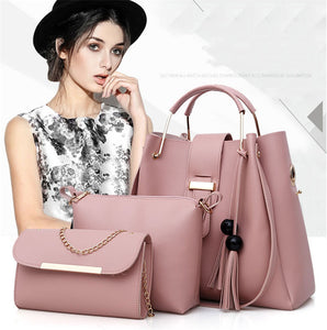 Club Dresses | Club Outfits | Party Dresses Bags, Women Leather Handbags Set 3Pcs/Sets - Clubbing Love