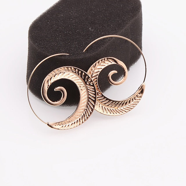 Club Dresses | Club Outfits | Party Dresses jewelry, Swirl Hoop Earring For Women Round Swirl Maze Spiral - Clubbing Love