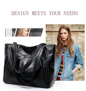 Club Dresses | Club Outfits | Party Dresses Bags, Women Tote Big Capacity Genuine Leather Sheepskin Shoulder Bag Large Handbag - Clubbing Love