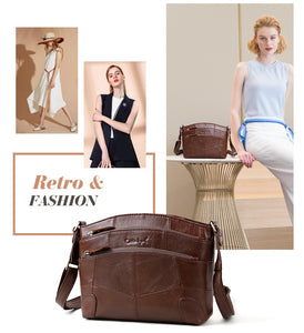 Club Dresses | Club Outfits | Party Dresses Bags, Multi Pockets Vintage Genuine Leather Bag Female Small Women Handbags Bags For Women Shoulder Crossbody Bag - Clubbing Love