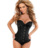 Club Dresses | Club Outfits | Party Dresses Lingerie, Sexy Corsets Lingerie Women Plus Size Corsets Lace Up boned Over bust Bustier Waist Clincher Body shaper lingerie S-6XL - Clubbing Love