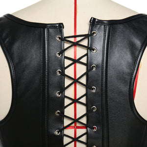 Club Dresses | Club Outfits | Party Dresses Lingerie, Sexy Plus Size S-6XL Faux Leather Waist Clincher Corset Lingerie New Steampunk Steel Boned Lace up Back Sexy Body Bustier Overbust - Clubbing Love