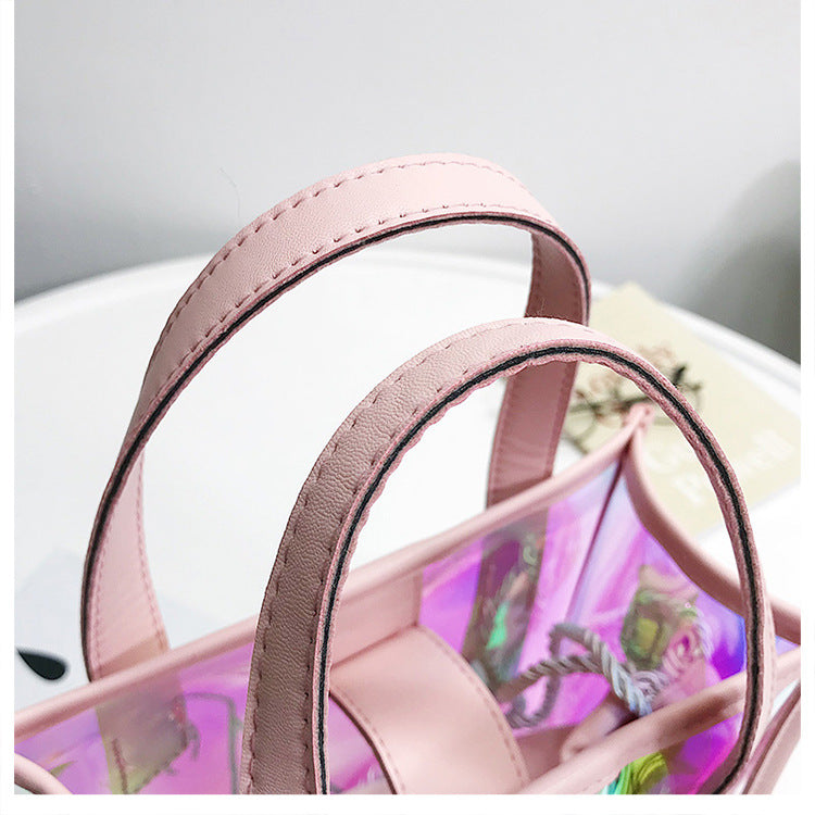 Club Dresses | Club Outfits | Party Dresses Bags, Women Clear Transparent Shoulder Bag Jelly Candy Summer Beach Handbag Woman Messenger Bags Bolsa Feminina - Clubbing Love