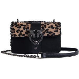 Club Dresses | Club Outfits | Party Dresses Bags, Women Luxury Handbags Women Bags Designer Leopard Black Red Female PU Leather Crossbody Shoulder Bags - Clubbing Love