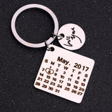 Club Dresses | Club Outfits | Party Dresses Personalized, Personalized Custom Jewelry Calendar KeyChain Stainless Steel DO NOT Fade Engrave Special Date Birthday Wedding Anniversary Gift - Clubbing Love