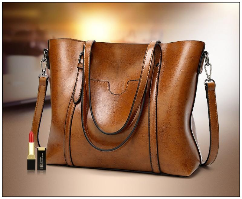 Club Dresses | Club Outfits | Party Dresses Bags, Women Genuine Leather Top Handle Satchel Daily Work Tote Shoulder Bag Large Capacity - Clubbing Love