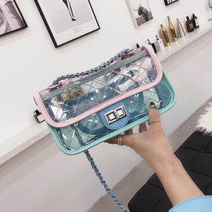 Club Dresses | Club Outfits | Party Dresses Bags, Classic clutch Messenger Bags Small Chain Shoulder Flap bag Exquisite Transparent Bag Stylish Crossbody bags - Clubbing Love