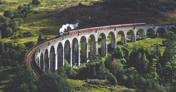 Go back in time on a steam train.