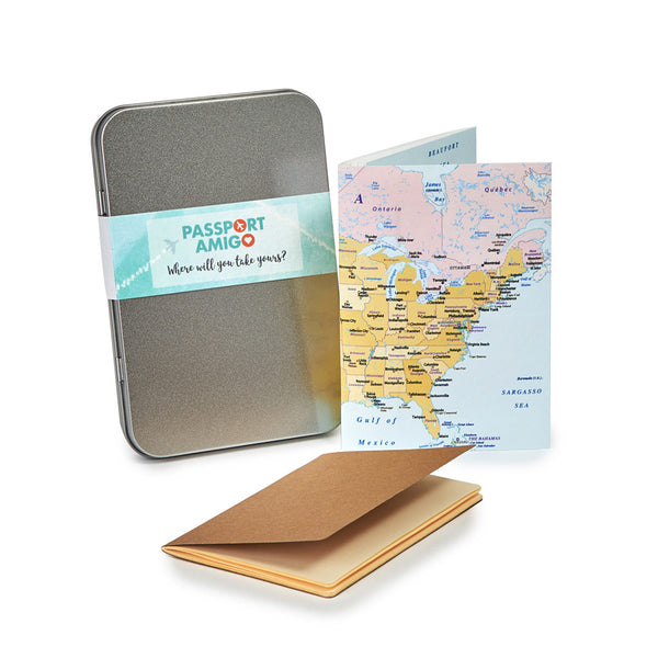 USA Travel Wallet Set