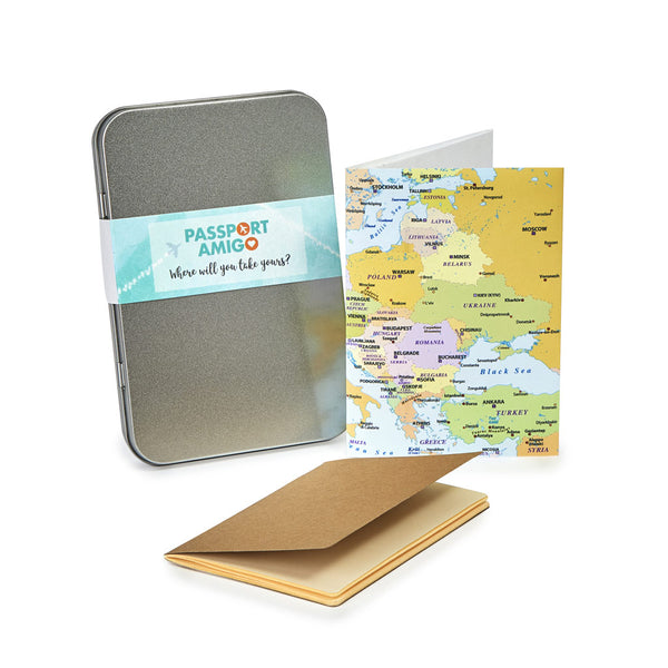 Europe Travel Wallet Set