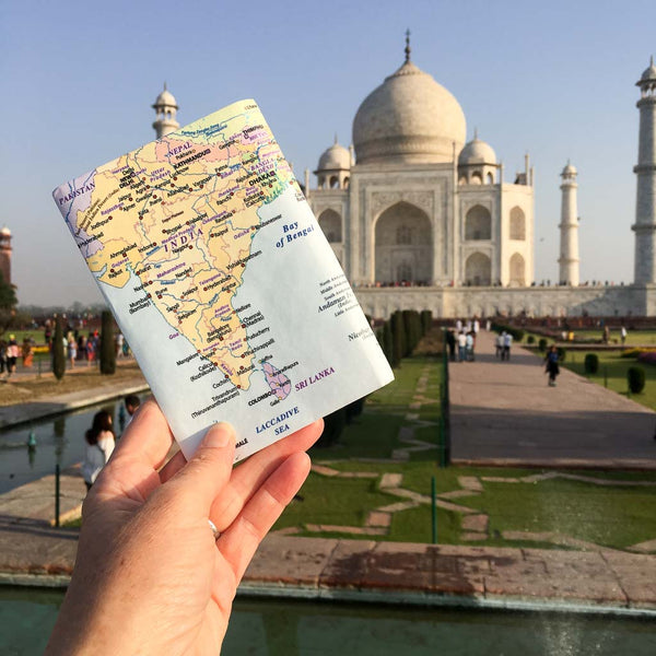 India & SE Asia Travel Wallet