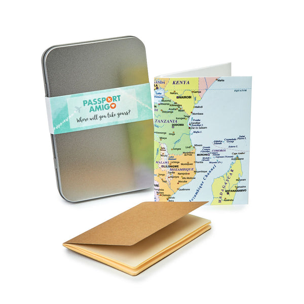 Central & East Africa Travel Wallet Set
