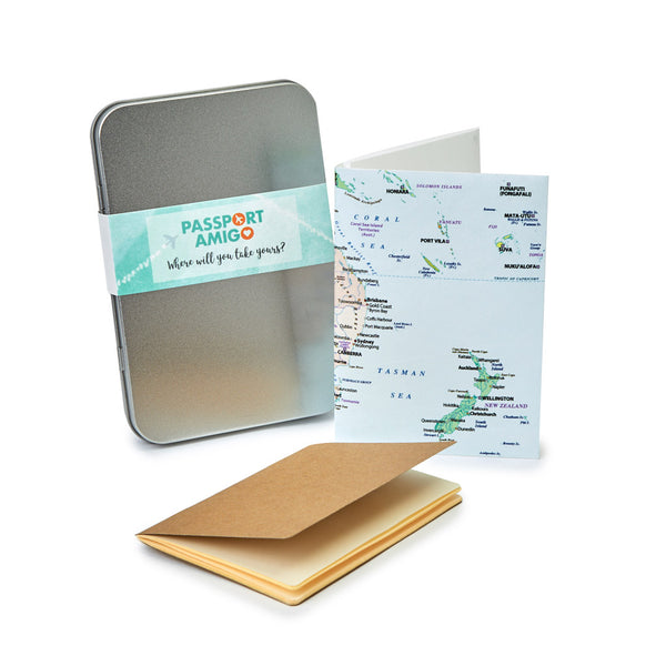 Australia & New Zealand Travel Wallet Set