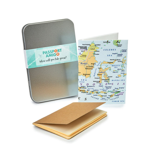 Malaysia, Singapore & Indonesia Travel Wallet Set