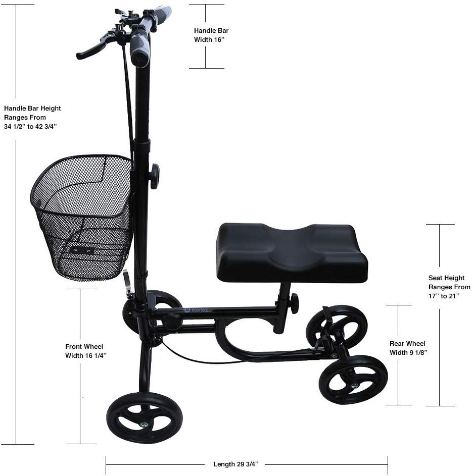 Product Highlight - BodyMed Economy Knee Walker Scooter