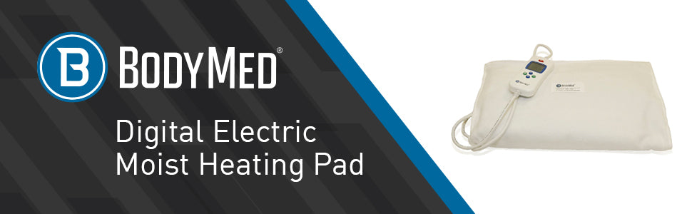 Bodymed Digital Moist Heating Pad  - Title with product image