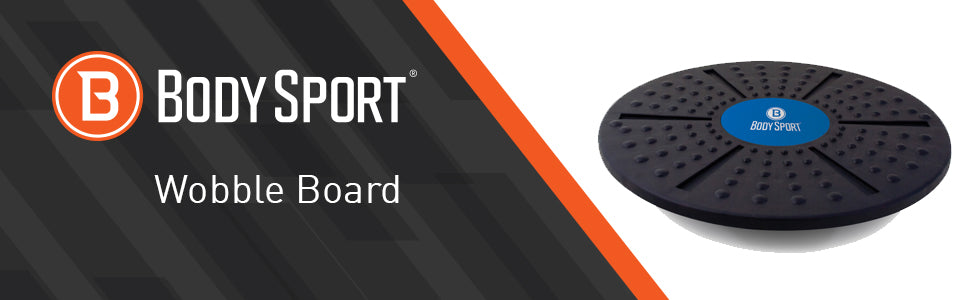 BodySport Wobble Board   - Title with product image