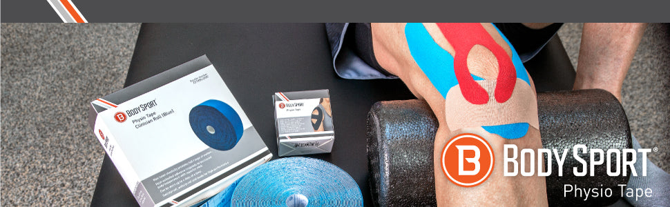 Body Sport Physio Tape Header with Logo