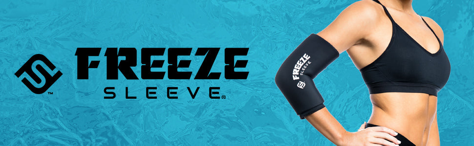 Freeze Sleeve Cold Therapy Compression Sleeve - Title with product image