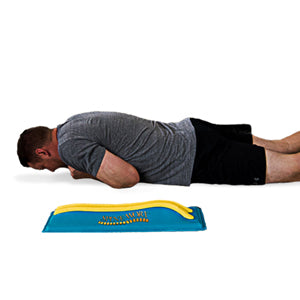 Spine-Worx - man laying on stomach