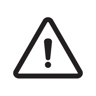 Product Highlight - Product Warning Symbol
