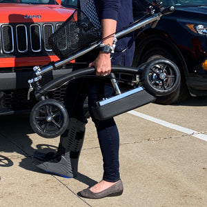 BodyMed Knee Walker - Product in use