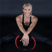 BodySport Resistance Loop Tube - woman with loop tube