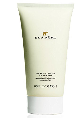 SUNDARI Comfrey Cleanser for Dry Skin – Face Wash for Women – Dry Skin Facial Cleanser