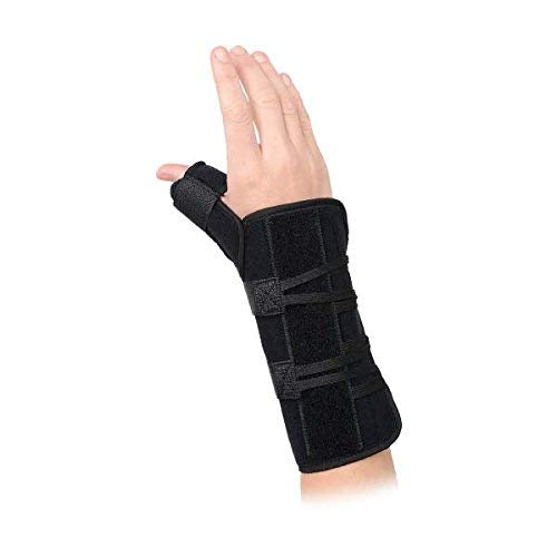 Advanced Orthopaedics 180 - L Universal Wrist Brace with Thumb Spica44; Left