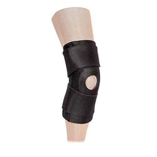 The Gator WRAP Universal HINGED Knee Brace W/ 13 Hinge (SUGG. PDAC L1820) - FITS All Knee CIRCUMFERENCES UP to 24""