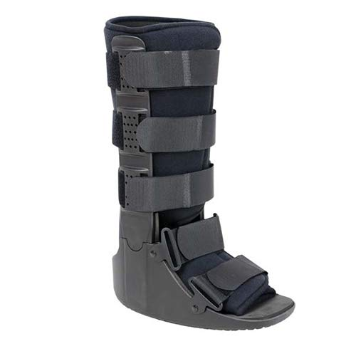 Advanced Orthopaedics Low Profile Walker - High Top (Hard Plastic Supports) - XL