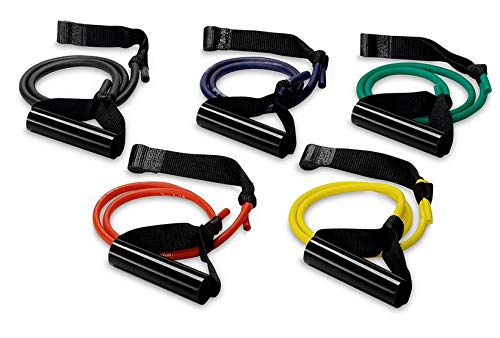 ExerBand Resistance 3 ft. Single Strand Unilateral Tubing 5/pk - by PrePak Products