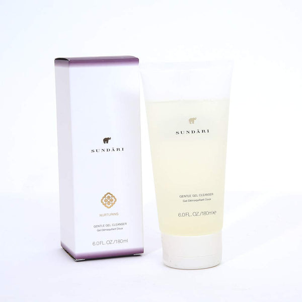 Sundari Gentle Gel Cleanser for All Skin Types - Foaming Face Wash, Make up Remover, Refreshes The Skin, 6 fl oz