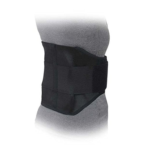 Advanced Orthopaedics Lumbo Lite Lumbar Orthosis, Black, XX-Large