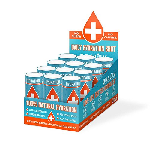 Oral IV 2 oz. Daily Hydration Shot - 12 pack