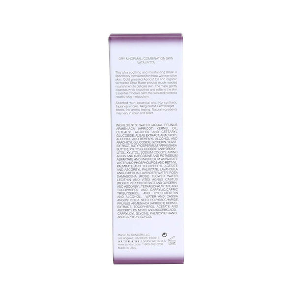 Sundari Apricot and Shea Hydra Soothing Mask, 2.8 Ounce