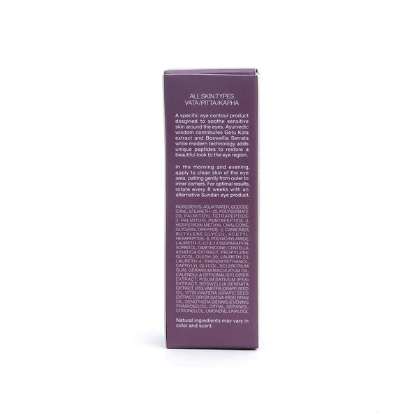 Sundari Gotu Kola and Boswellia Firming Eye Serum, 0.5 Ounce