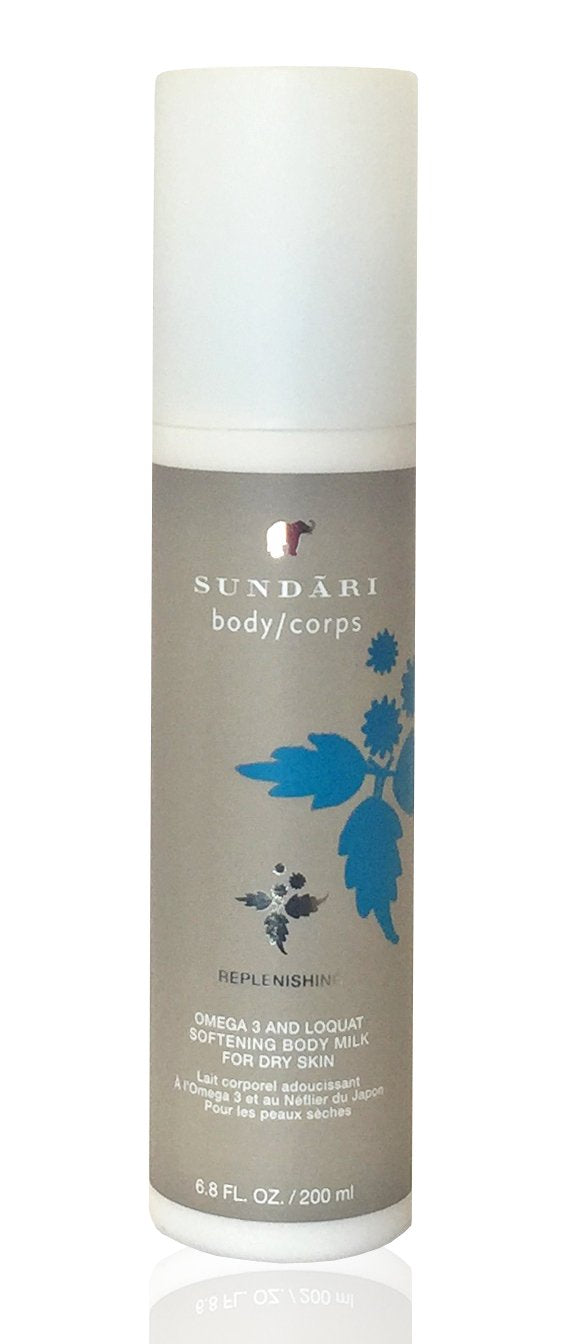 Sundari Omega 3 and Loquat Softening Body Milk, 6.8 Ounce