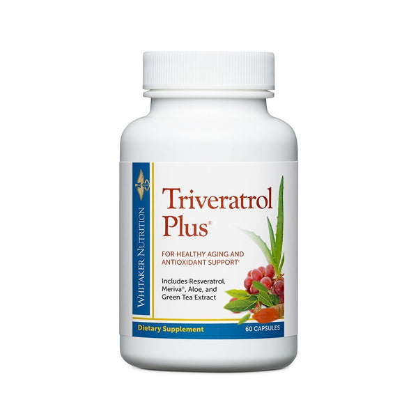 Dr. Whitaker's Triveratrol Plus Anti-Aging Supplement