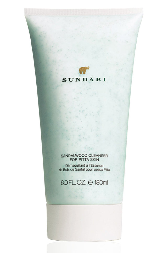 Sundari Sandalwood Cleanser for Normal to Combination Skin, 6 Ounce