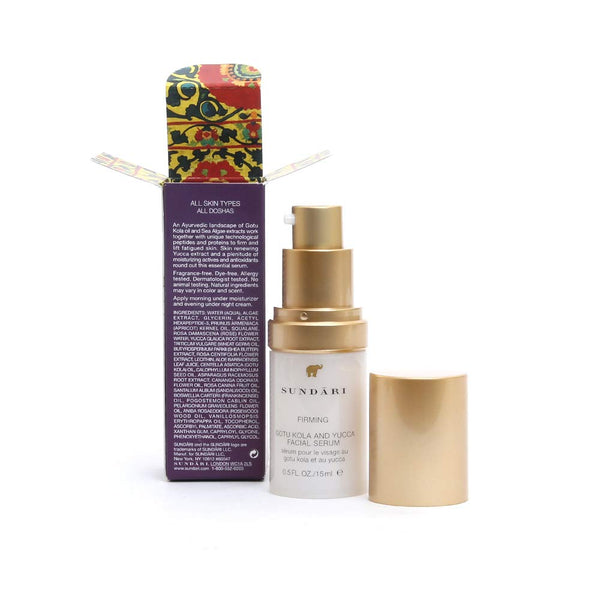 Sundari Gotu Kola and Yucca Facial Serum, 0.5 Ounce