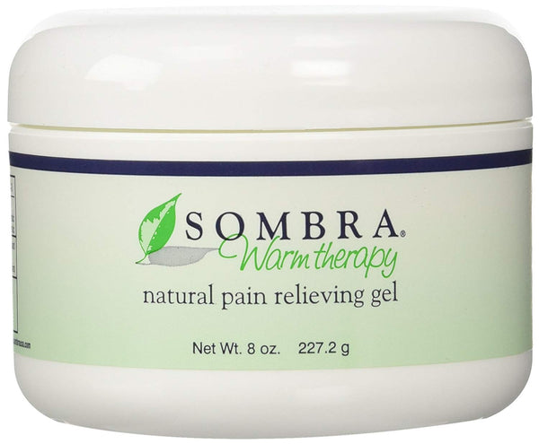 Sombra Warm Therapy Natural Pain Relieving Gel, 8 oz., 3 Count